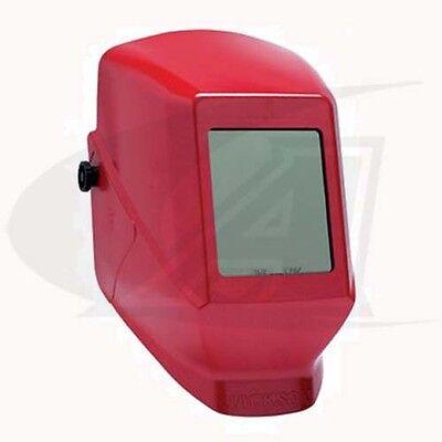 Jackson Classic Welding Helmet - Passive Lens Red Shell