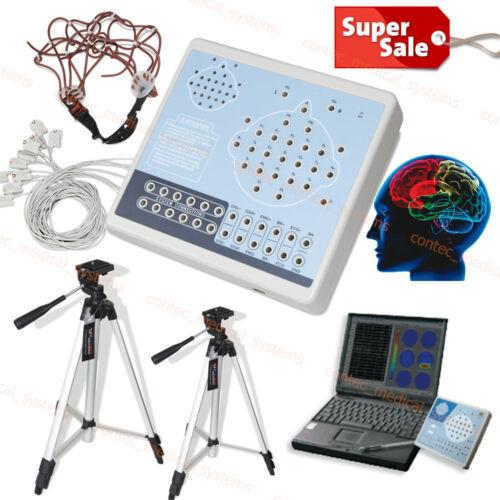 KT88-2400 Digital 24-channel EEG And Mapping System EKG Machine,Software Analyze