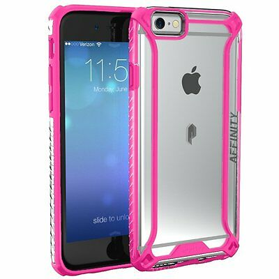 POETIC Affinity【Soft Shock proof】TPU Bumper Case For Apple iPhone 6S / 6 Pink