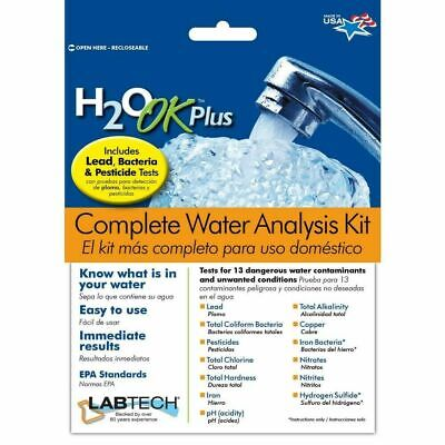 H2o Plus Water (Mosser Lee H2O OK Plus Chlorine Complete Water Analysis Kit INSTANT TEST)
