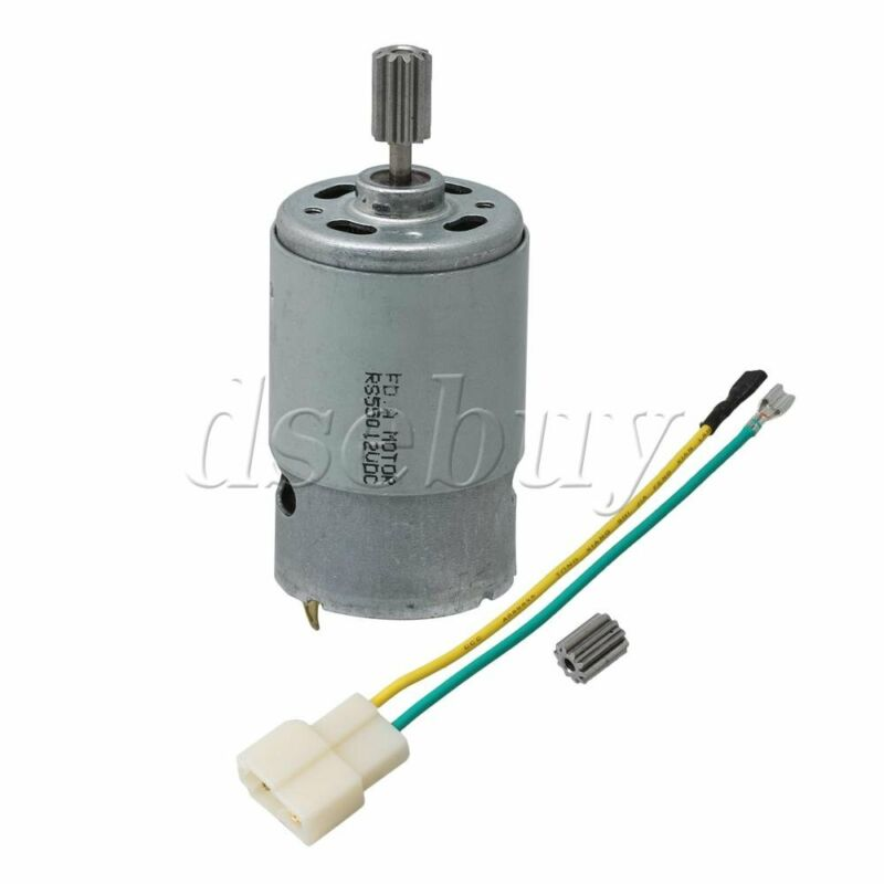 550 Electric 15000 RPM Motor 12V DC 10T for Children Ride Replacement Parts