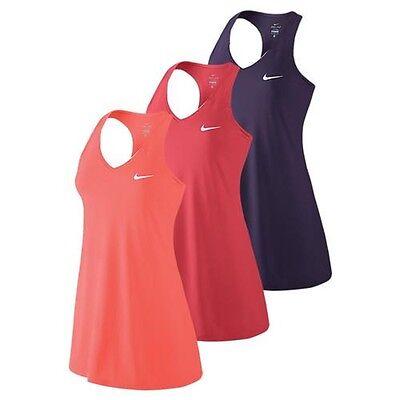 (Nike 728736 Women's $70 Pure Tennis Dress Dri-FIT Training Running Dance 872819)