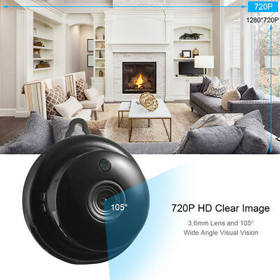Spy Camera IP Wireless WiFi Camera Indoor/Outdoor HD DV Hidden Security TH827