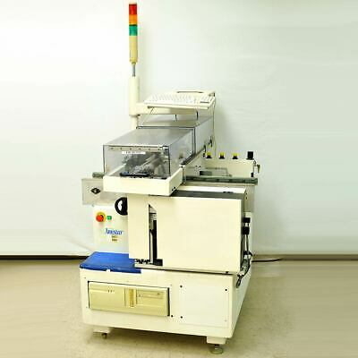 Amistar Dataplace 1m Pickplace Barcode Pcb Board Labeler With Zebra Printer
