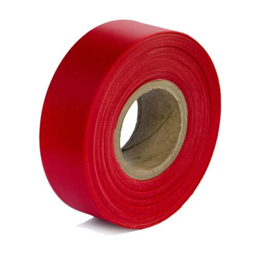 SEC Safety TFTR Red Flagging Tape, Pack of 2, 300 ft Length, New, Free Shipping
