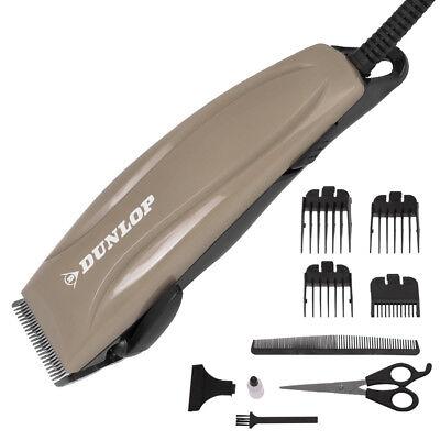 Dunlop Haarschneider Haarschneidemaschine Barttrimmer Rasierapparat Set beige