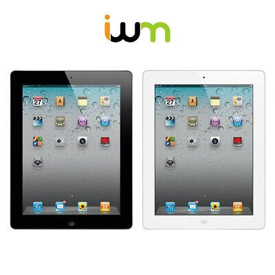 Apple iPad 2 16GB 32GB 64GB GSM Unlocked / Verizon / WiFi - Black / White