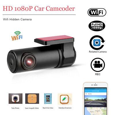 1080P HD Dashcam Wifi Auto Kamera DVR Nachtsicht Videorecorder 170° G-Sensor