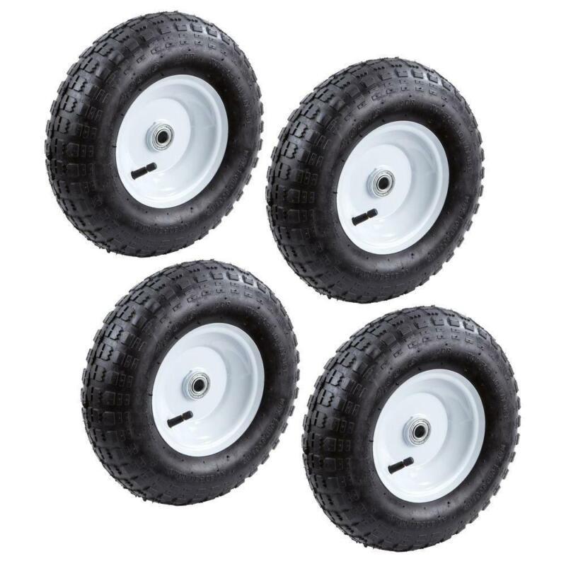 Replacement 13 Inch Pneumatic Tires Lawn Garden Cart Hand Tr