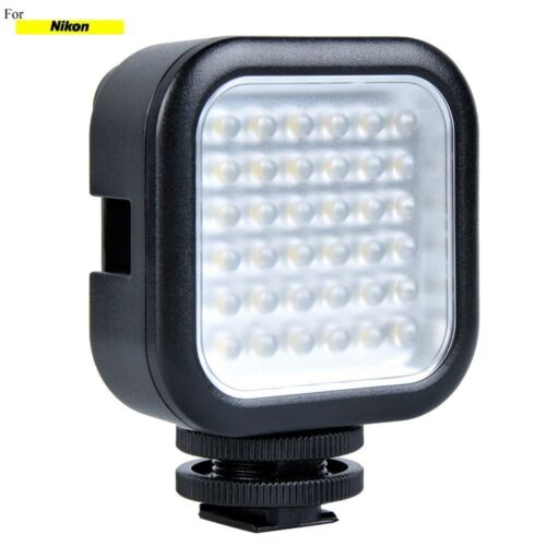 SLR/Photo/Video LED Light For Nikon D3400 D5500 D3300/200 D40X D50 D60 D80 D3200