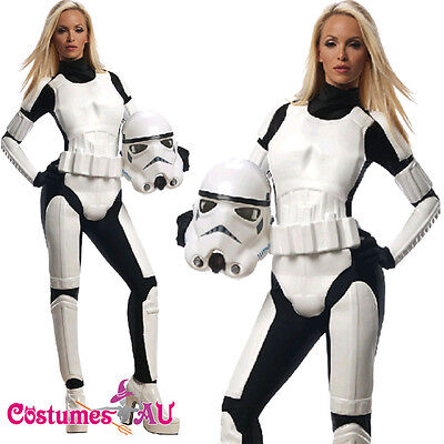 Rubies Ladies Star Wars Stormtrooper Costume Female Storm Trooper Fancy Dress](Female Storm Trooper)