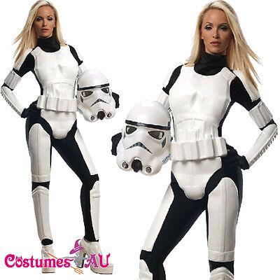 Rubies Ladies Star Wars Stormtrooper Costume Female Storm Trooper Fancy Dress (Female Storm Trooper)