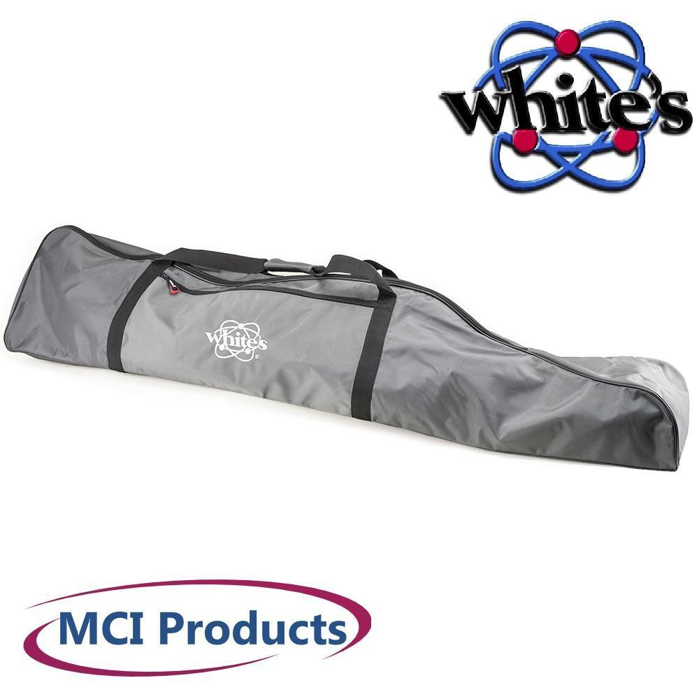 Whites Electronics Signature Series Metal Detector Carry Bag Tote & Hat 601-1263