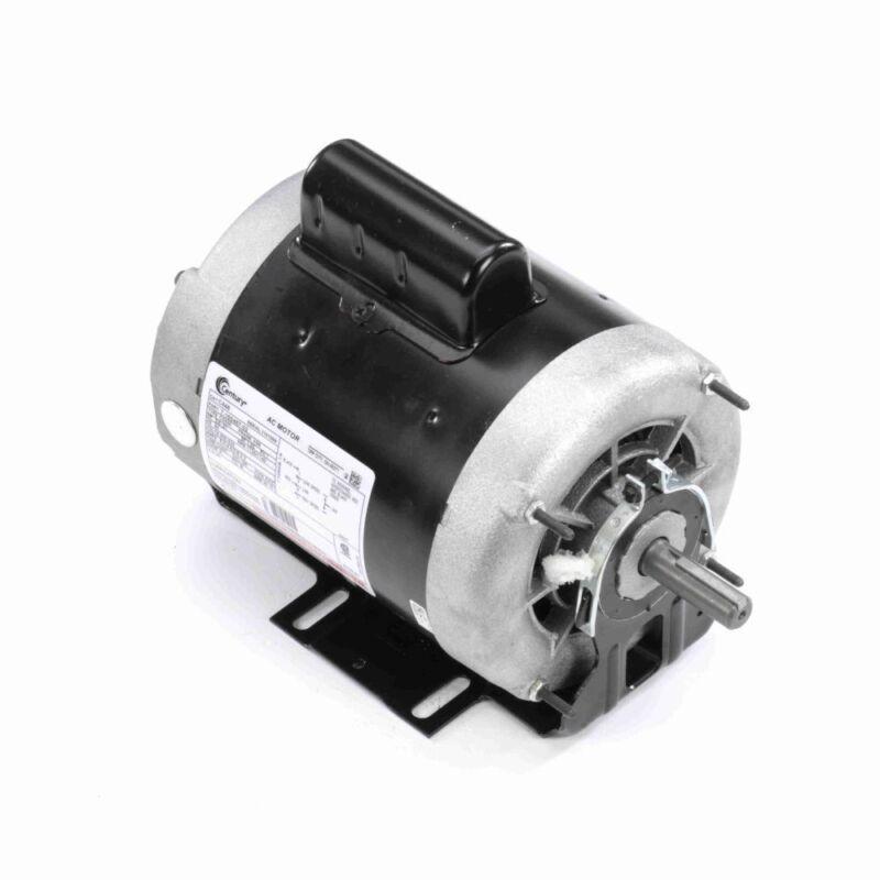 3/4 hp 1725 RPM 2-SPD 56 Fr 230V Belt Drive Blower Mtr Cap Start Century # C448