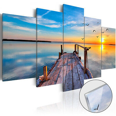 Not Framed Home Decor Canvas Print Modern Wall Art Seascape Beach Picture Cheap