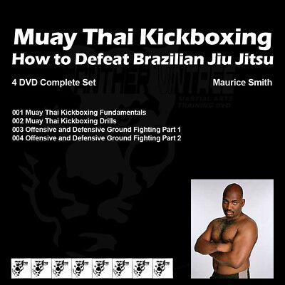 Muay Thai - How to Beat Brazilian Jiu Jitsu (4 DVD Set) with Champ Maurice Smith
