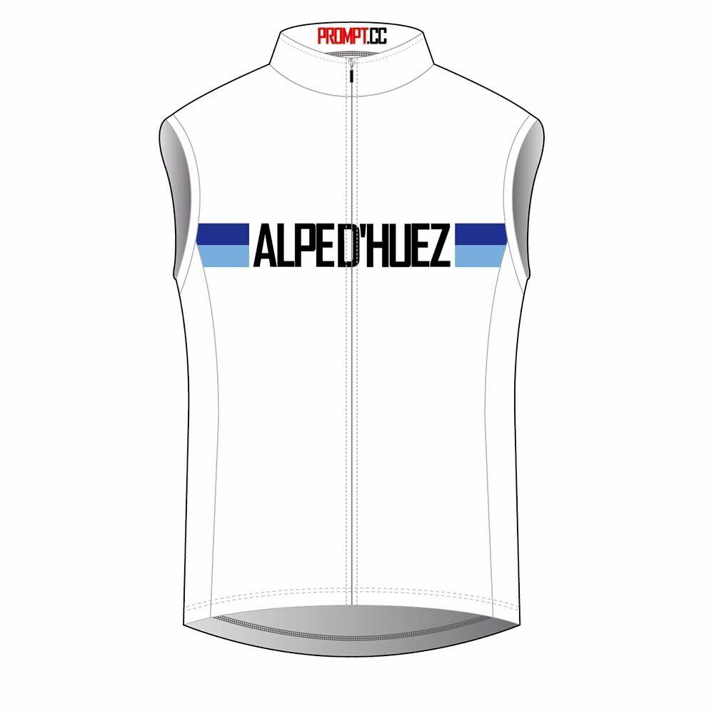 PROMPT CYCLING ALPE D'HUEZ GILET CYCLING VEST RRP €60 L Large size