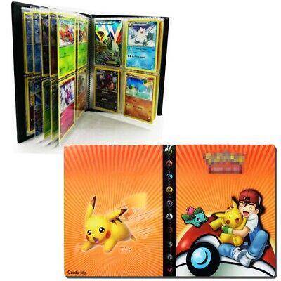 US Pokemon Card Binder Portfolio Pocket Album Card Portfolio 240 Cards Holder