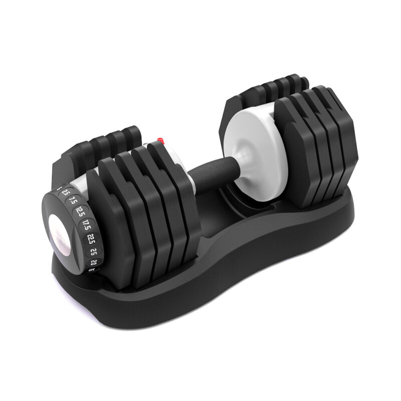 Ativafit Adjustable Dumbbell 55 lbs Weight Train for Gym Home Body Workout 1Pcs