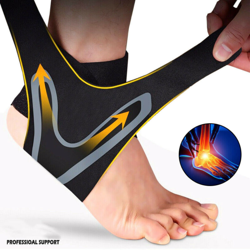 Ankle Brace Achy Heel Plantar Support Fasciitis Compression