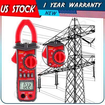 Digital Electronic Acdc Voltage Clamp Meter Multimeter Current Volt Testerlead