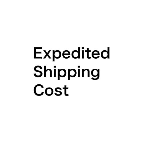 Expedited Shipping Servise 25