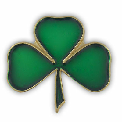 SHAMROCK IRISH HAT PIN LAPEL PIN ST PATRICKS DAY IRISH NEW IN PACKAGE - Shamrock Pin