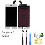 LCD Touch Screen Display Digitizer Assembly Replacement Set for iPhone 6 White