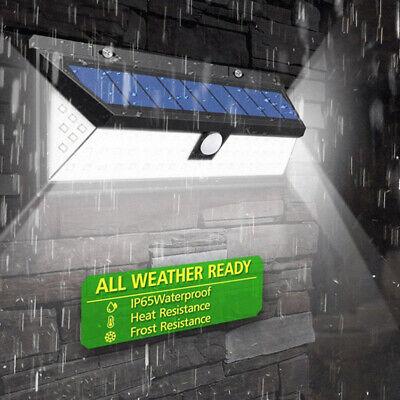 Lámpara 118LED Exterior Luz pared Impermeable Solar con Sensor movimiento