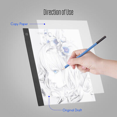 Eye-Protection A3 LED Light Pad Drawing Tablet Tracing Tracer Copy Board W2X5