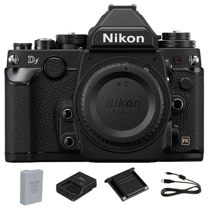 Nikon 16.2 Megapixel Digital SLR Camera (Body Only) Black Df