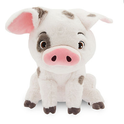 Nwt Disney Store Authentic Moana Pig Pua Plush Toy Doll   Large 17