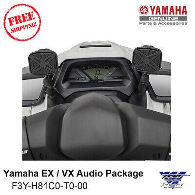 Yamaha EX / VX  / GP Waverunner Audio Kit Bluetooth Speakers F3Y-H81C0-T0-00