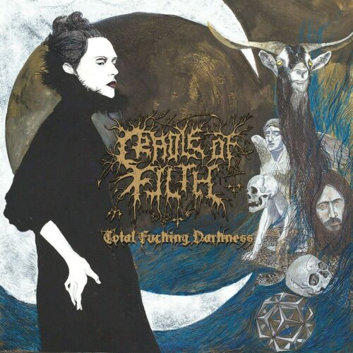 Cradle Of Filth Total F@#king Darkness DEMO 12x12 Album Cover Replica Poster