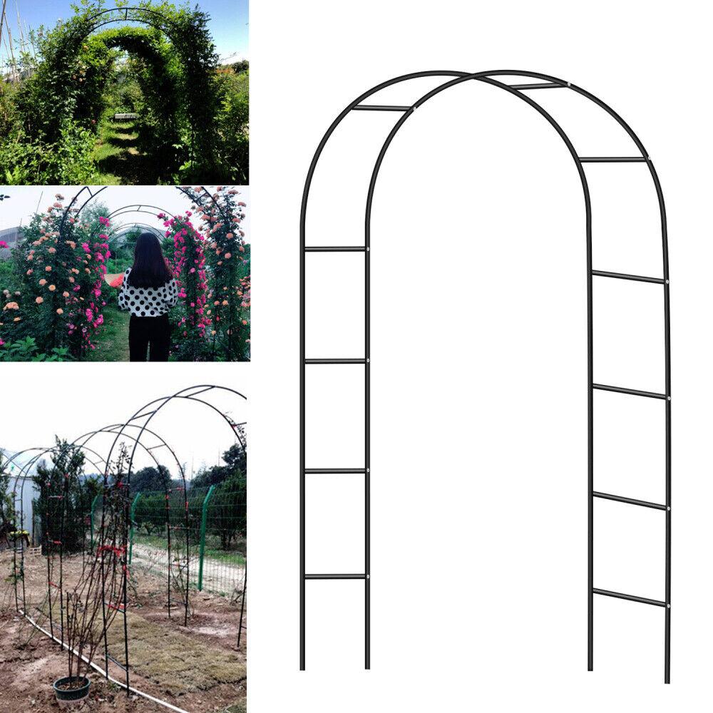 Fabriquer Treillis Bois Pour Plantes Grimpantes détails sur set 2 x arc rose support pour plantes grimpantes arche treillis  de jardin
