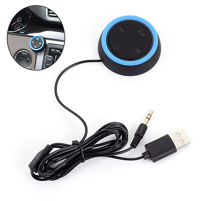Wireless Bluetooth Handsfree in-Car Charger Kit Speaker Phone for iPhone Android