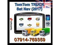 Tomtom Truck Edition Sat Nav - LATEST Europe 2017 Maps , Lorry,HGV,Caravan, Car, Trailer*BARGAIN* fe