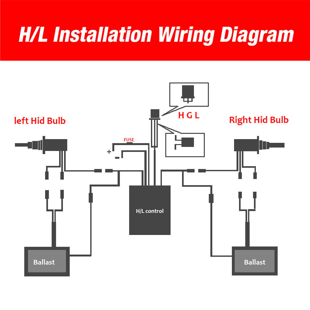 Details about Aliens 55W 9007/9004 HID Kit High/ Low Hi-Lo Beam Xenon on