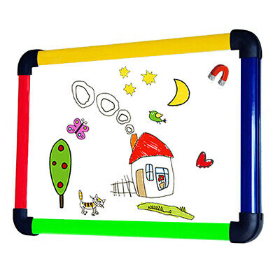 Viz-pro Children Boardwriting Whiteboarddry Erase Board Colored Frame12 X 8