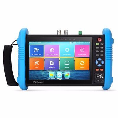 7 4k Poe Wifi Cctv Analog Ip Camera Tester Monitor H.265 Onvif Ipc-9800plus