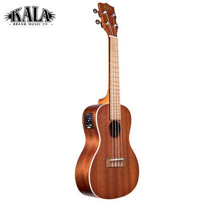 NEW Kala KA-CE Satin Mahogany Acoustic Electric Concert Ukulele with EQ (Kala Ka Ce Acoustic Electric Concert Ukulele)