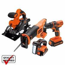 BLACK-DECKER-18V-4-Piece-Cordless-Kit Kellyville The Hills District Preview