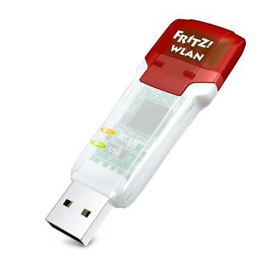 AVM FRITZ!WLAN Wireless LAN USB Stick WLAN AC 860 866Mbit/s 5GHz WPA2