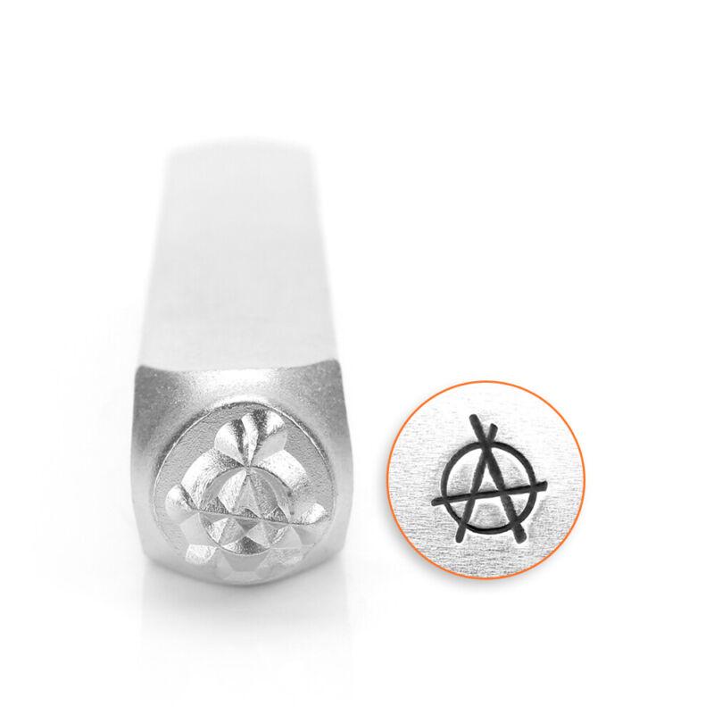 Anarchy Metal Stamp, ImpressArt- DIY Jewelry Stamping Punk Rock Steel Punch