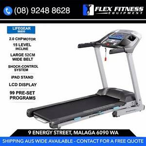 NEW TREADMILL, 2CHP, 52CM WIDE, GEL BASED SHOCKS, 100 PROGRAMS Malaga Swan Area Preview