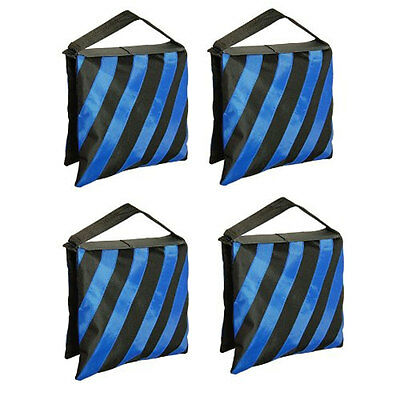 Stand Sandbags (4x Counter Balance Sandbags Sand Bag for Photo Studio Light Stand Boom)