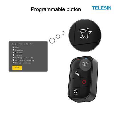 TELESIN Waterproof Smart WIFI Remote Control for GoPro Hero 5/4/3,5/4 Session
