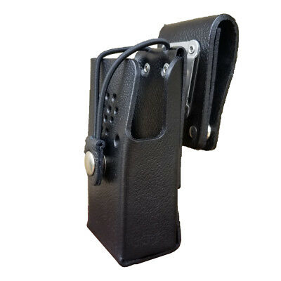 Case Guys Hy3000-3bw Hard Leather Holster For Hytera Pd405 Pd500 Radios