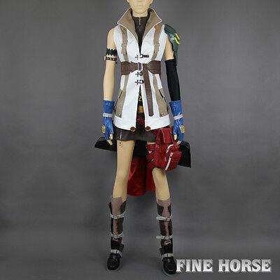 FINAL FANTASY XIII FF 13 FFXIII Lightning Eclair Farron Cosplay costume Kostüm - Lightning Farron Cosplay Kostüm