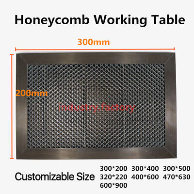 Honeycomb Working Table Sheet 300x200mm For Co2 Laser Engraver Cutting Machine